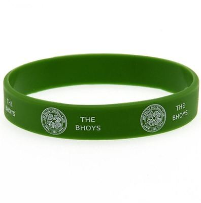 CELTIC The BHOYS Silicone WRISTBAND Licensed CELTIC Official Merchandise