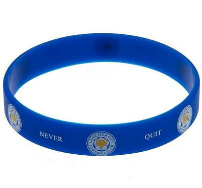 LEICESTER CITY Silicone WRISTBAND Licensed LEICESTER CITY Official Merchandise
