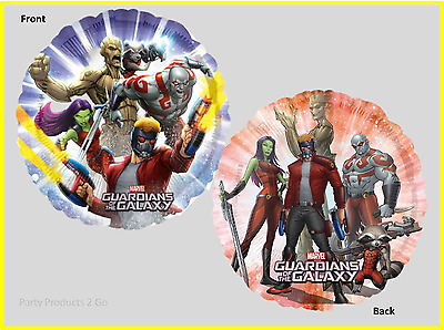 """Guardians of the Galaxy 18"""" Foil Helium Balloon Marvel Birthday Party Anagram"""