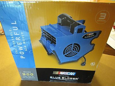 Nascar Blue Blower Shop Carpet Electric Fan BB3000N  (NEW Old Stock)