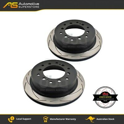DBA793S Brake Disc Rotor Pair 4X4 Survival Series T2 Slotted DBA