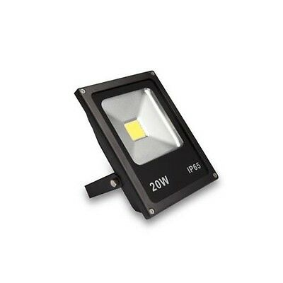 proyector luz led 20 w 1500 lumens megaled ip65