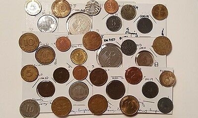 Germany Lot, 50+ Coins, Empire-Modern, Good-Bu, 1800's-Modern, Free Usa Shipping