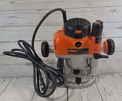 Triton 3 1/4 HP Plunge Router With Kreg Insert Plate & Levelers