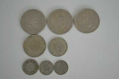 pieces francs suisse ( 18 francs) tbe