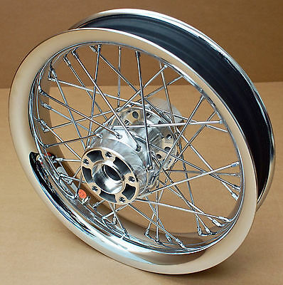 Harley Original Rad Hinten 16 X 3 Chrom Rear Wheel Wheels Dyna Softail Touring