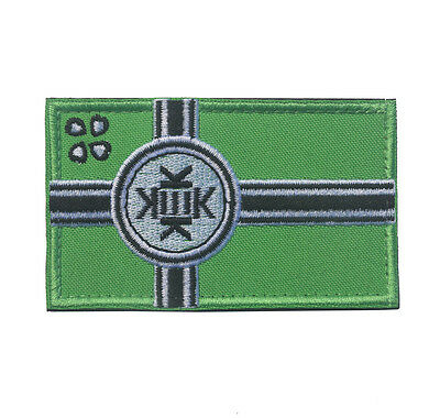 KEK FLAG TACTICAL MILITRAY Morale Badge 3D USA Army Embroidered Hook Patch /01
