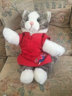 Bear Factory Cat With Chinese Dress