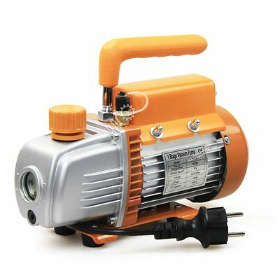 BACOENG 3 CFM AC 220V Refrigerant HVAC Single-stage MINI Rotary Vane Vacuum Pump