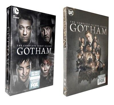 Gotham: The Complete Seasons 1 & 2 (DVD, 2016, 12-Disc Set)