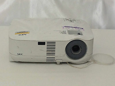 NEC VT59 LCD PROJECTOR USED 2511h LAMP HOURS 31% REMAINING LIFE | REF: 1079