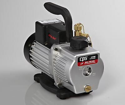 CPS Products VP4S Pro-Set Single Stage Vacuum Pump 3 cfm 10 micron