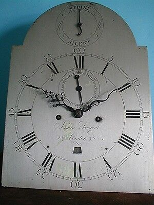 Fabulous London  Longcase Movement By Highly Regarded Maker