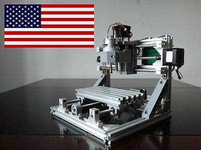 New 2017 - Diy Cnc1610 Mini 3 Axis Cnc Router Kit Pcb Milling Wood Carving Laser