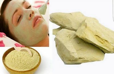 100% Multani Mitti/Mathi Mud Face Pack Multani Mitti  Premium Quality Free P&P