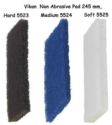Vikan Scrubbing Pads  For Cleaning Floors, Walls Flat Surface 5523 5524 5525
