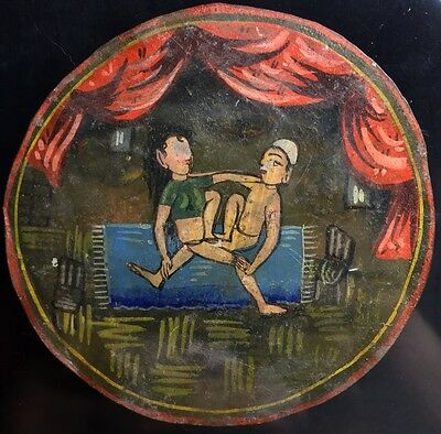 c1740 Karma-sutra India Artisan Ancient Playing Cards Rare Cultural Single +COA