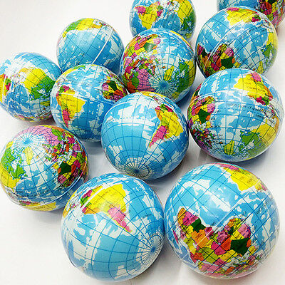 Best Stress Relief World Map Foam Ball Atlas Globe Palm Ball Planet Earth Ball