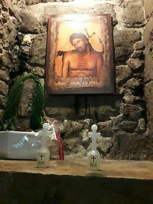Mary's well nazareth holy water from The spring of Miriam