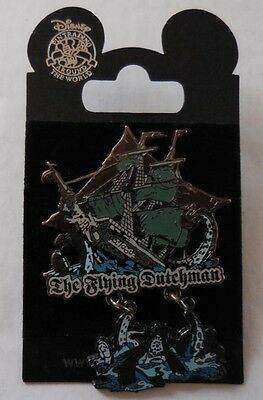 Disney Pin DLR Pirates of the Caribbean The Flying Dutchman Pin New