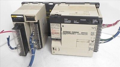 C200H CPU01 E2 Sysmac Omron Programmable Controller ( Used and Tested )