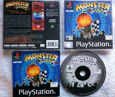 ps1 Game Monster Racer (Sony PlayStation 1, 2001)