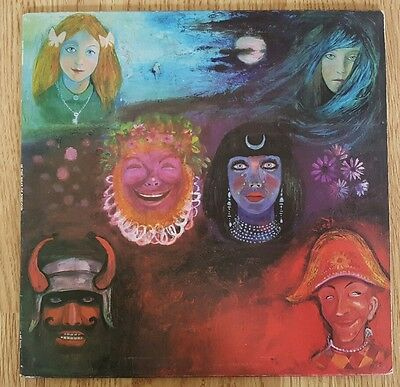 King Crimson -  In the Wake of Poseidon UK press vinyl LP ILPS 9127 pink rim