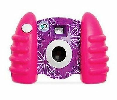 Discovery Kids Digital Camera and Video - Pink/Purple New Free Shipping