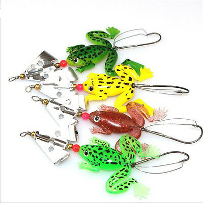 Frog Fishing Bait Lure Soft High Quality Kopper 80mm/6g Topwater Simulation