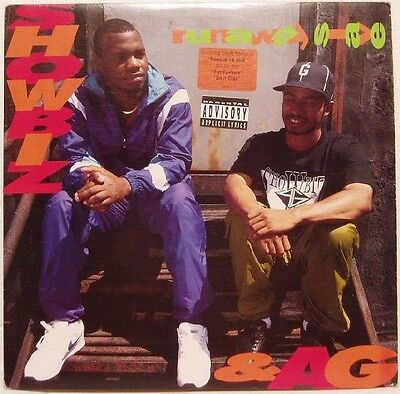 "Showbiz & Ag "" Runaway Slave "" Sealed U.s.lp Big L Lord Finesse Dj Premier"