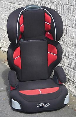 Graco Junior Maxi child car safety seat / booster.  Good Condition.