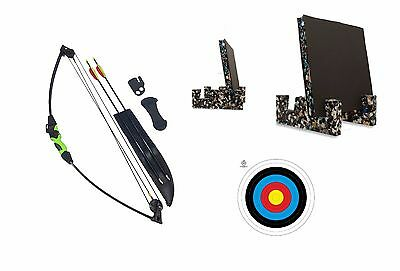 New Kids Childs Archery Beginners Recurve Bow and Arrow Full Set + Target