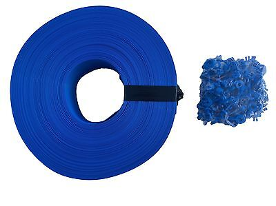 Privacy Screen Roll Weave for Chain Link Fence Royal Blue Backyard Slats