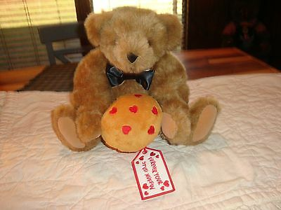 Rare Vermont Teddy Bear Furever Your Stud Muffin-Muffin With Red Hearts-Usa-Cute