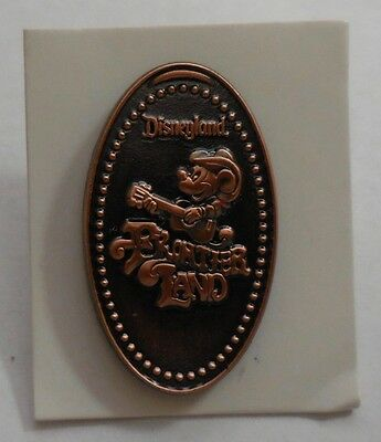 Disney Pin WDI Pressed Penny Mickey Frontierland Pin LE250