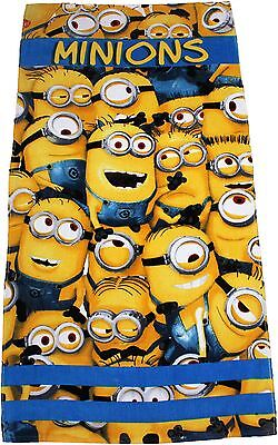 Dispicable Me Sea Of Minions Large Summer Beach Towel By BestTrend