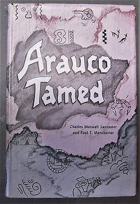 translation of 1596 epic of Indian War in Chile ARAUCO TAMED by Pedro de Ona