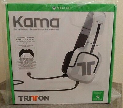 Tritton Kama Stereo Headset for Xbox One - White