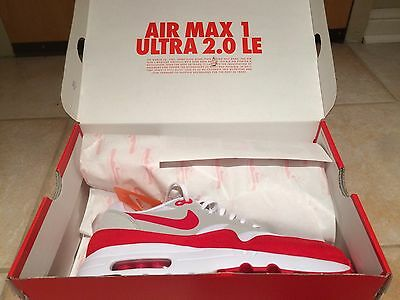 Nike Air Max 1 Ultra 2.0 University Red Size 10