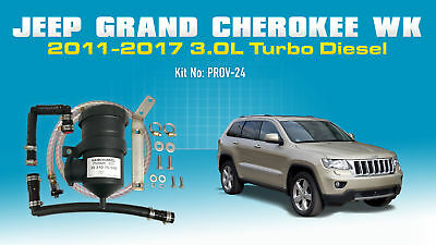 ProVent Catch Can Kit for JEEP Grand Cherokee (2011-2017) 3.0L WK Turbo Diesel