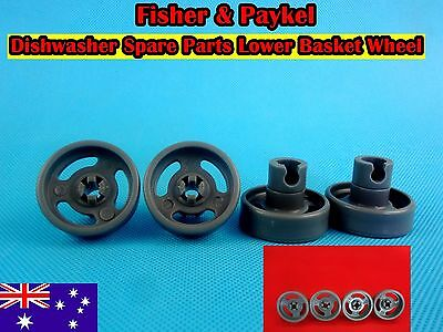 Fisher & Paykel Dishwasher parts Lower Basket Wheel 4pcs/set  -Grey NEW (D24)