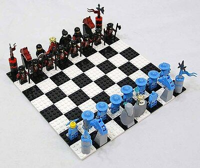 LEGO Knights Kingdom II Chess Set G678 Parted Out - Choose An Item / Minifigure