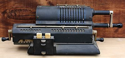 Antique Odhner Pin Wheel Calculator Mechanical Adding Machine 107-601025 Sweden