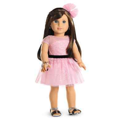 American Girl Doll Grace Thomas Opening Night Outfit NEW!! Pink Dress