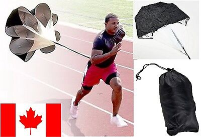 "Running Trainer 56"" Speed Parachute Track Training Resistance Weight Work Out"