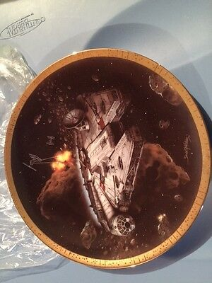 Star Wars Empire Strikes Back Collectable Plate