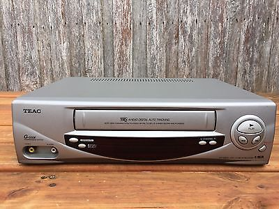 Serviced Teac MV-4090 Video Recorder Player No REMOTE VHS Player VCR
