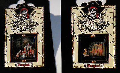 Disney Pin DLR Pirates of the Caribbean Jail Spinner New Pin LE1500