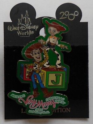 Disney Pin Mickey's Very Merry Christmas Party '03 Woody and Jessie Parade Float