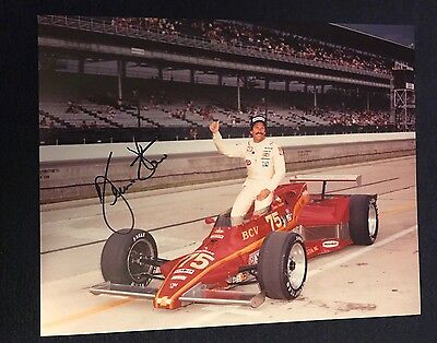 Bill Simpson Signed Indy 500 Indianapolis 8 X 10 Photo Autographed